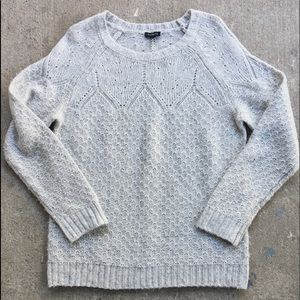 Talbots | Grey Knit Sweater